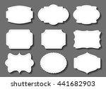 vintage label.decorative frame... | Shutterstock .eps vector #441682903