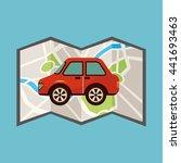travel vacations design  | Shutterstock .eps vector #441693463