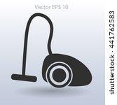 vacuum cleaner vector... | Shutterstock .eps vector #441762583