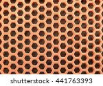 orange hole background  texture
