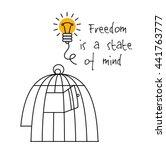 creative ideas mind symbols... | Shutterstock .eps vector #441763777
