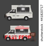food truck blank | Shutterstock .eps vector #441820717
