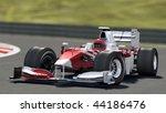 formula one race car on track   ...   Shutterstock . vector #44186476