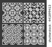 traditional pattern arabic | Shutterstock .eps vector #441899413