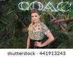 new york june 22  chloe grace... | Shutterstock . vector #441913243