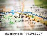 palm springs. california. usa   Shutterstock . vector #441968227