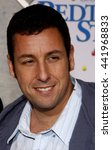 Small photo of Adam Sandler at the Los Angeles premiere of 'Bedtime Stories' held at the El Capitan Theater in Hollywood, USA on December 18, 2008.