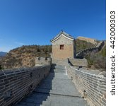 majestic great wall of china | Shutterstock . vector #442000303