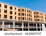 new housing units are currently ... | Shutterstock . vector #442003747