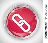 button icon. social media... | Shutterstock .eps vector #442010653