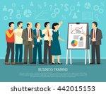 business development training... | Shutterstock .eps vector #442015153