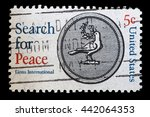 usa   circa 1967  a used...   Shutterstock . vector #442064353