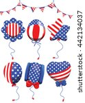vector   balloon for... | Shutterstock .eps vector #442134037