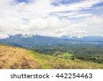 Valley Of Volcan Baru In Panam...