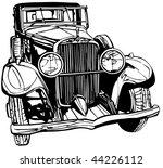 vector illustration of an old...   Shutterstock .eps vector #44226112