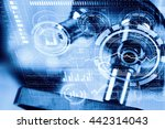 chemistry still life   Shutterstock . vector #442314043