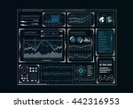 human user display | Shutterstock . vector #442316953
