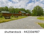 the road from the cobblestone... | Shutterstock . vector #442336987