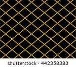 elegant gold and black diamond... | Shutterstock .eps vector #442358383