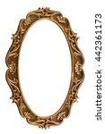 bronze  plaster frames isolated ... | Shutterstock . vector #442361173