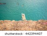 grand canyon chiangmai a famous ... | Shutterstock . vector #442394407