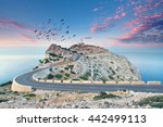 lighthouse at cap de formentor... | Shutterstock . vector #442499113