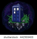 Vector Illustration Of Tardis ...