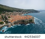 Aerial View Of Dubrovnik ...