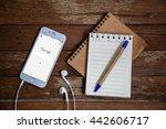 bangkok  thailand   june 23...   Shutterstock . vector #442606717