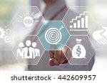 business  technology and... | Shutterstock . vector #442609957