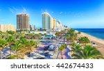fort lauderdale   february 25 ... | Shutterstock . vector #442674433