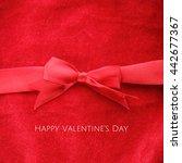 happy valentine's day  elegant...   Shutterstock . vector #442677367