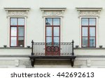 three windows in a row and... | Shutterstock . vector #442692613