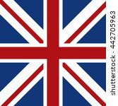 flag icon. united kingdom...   Shutterstock .eps vector #442705963
