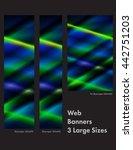 three sizes of common web...