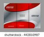 multipurpose tri fold brochure... | Shutterstock .eps vector #442810987