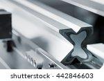 sheet metalworking cnc press... | Shutterstock . vector #442846603