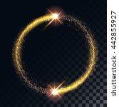 vector illustration of gold... | Shutterstock .eps vector #442855927
