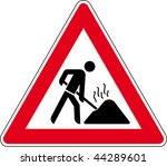 road sign | Shutterstock . vector #44289601