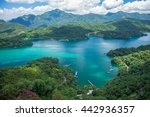 Landscape Of Sun Moon Lake In...
