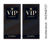 vip club party premium... | Shutterstock .eps vector #442968727