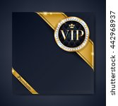 vip club party premium... | Shutterstock .eps vector #442968937