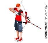 Archery Player Sportsman Games...