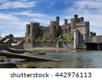 Conwy Castle  Wales  Uk  A...
