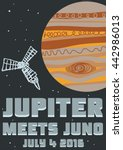 Space  Jupiter Themed Retro...