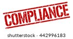 compliance stamp.stamp.sign... | Shutterstock .eps vector #442996183