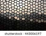 abstract stained glass effect ... | Shutterstock . vector #443006197