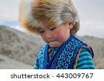 Cute Boy Portrait Of Kazak...