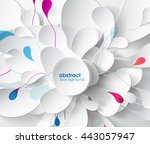 abstract colored background... | Shutterstock .eps vector #443057947