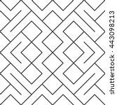 vector seamless pattern... | Shutterstock .eps vector #443098213